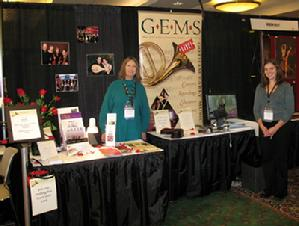 GEMS Live! booth at APAP Conference