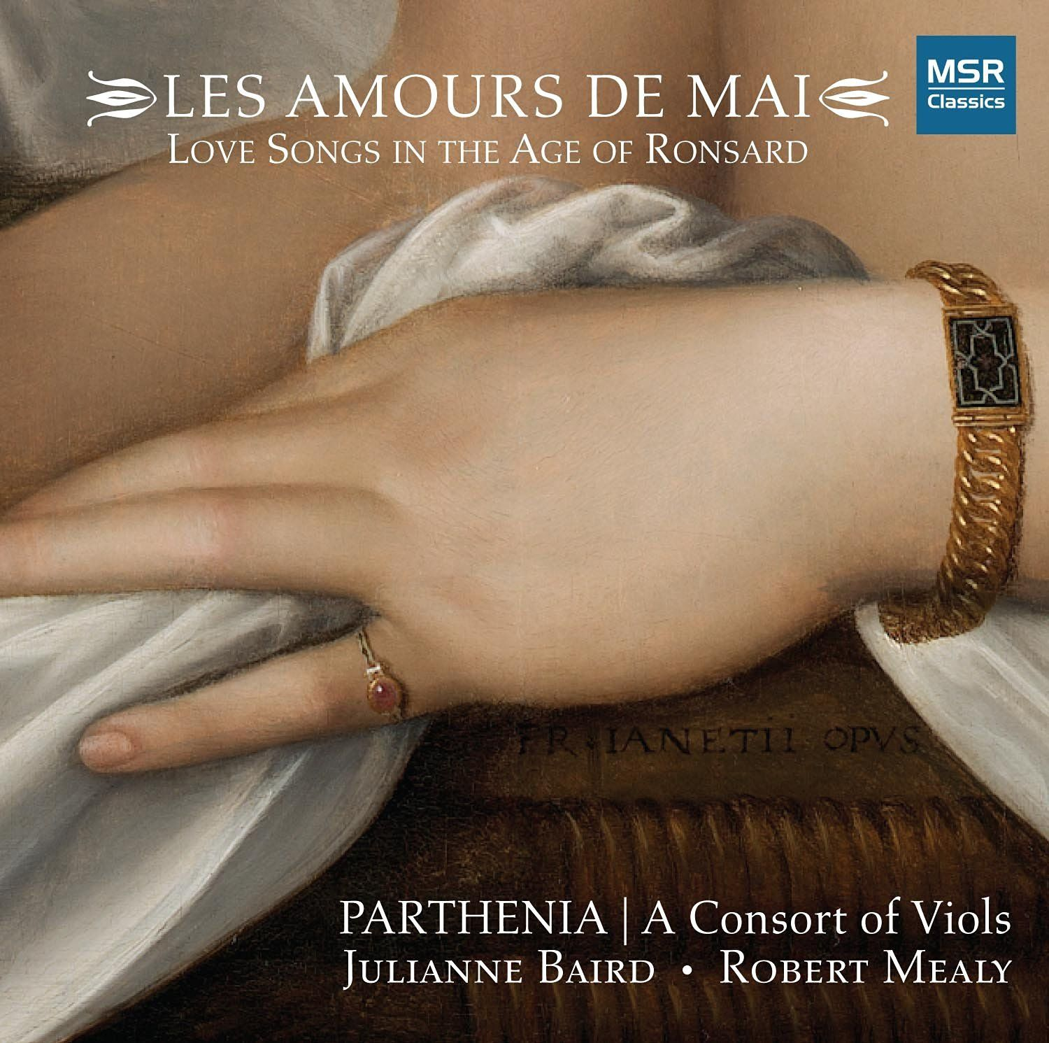 Parthenia - LES AMOURS DE MAI - Love Songs in the Age of Ronsard