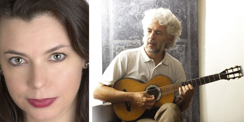 Nell Snaidas, soprano, and Eduardo Egüez, vihuela and Baroque guitar